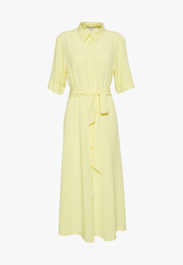 ADRIANA DRESS - Košilové šaty - yellow