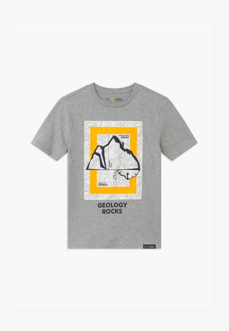 GAP - BOYS NATIONAL GEOGRAPHIC - T-shirt print - grey