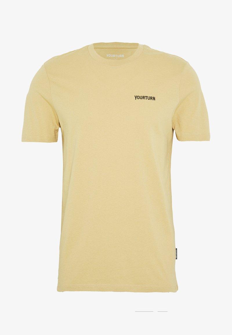 YOURTURN - UNISEX - Basic T-shirt - tan