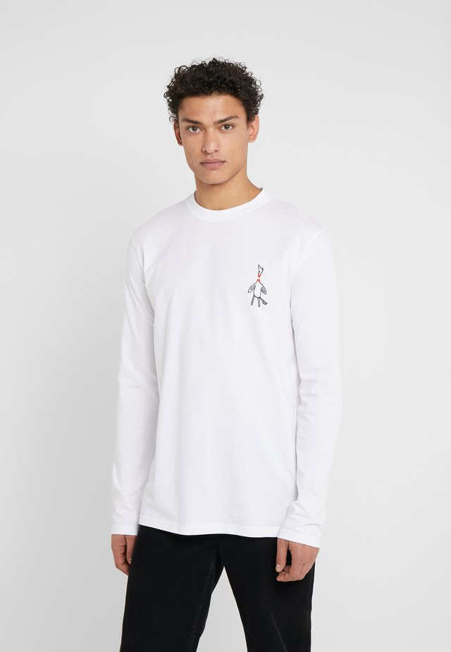 BIRD - Langærmede T-shirts - white