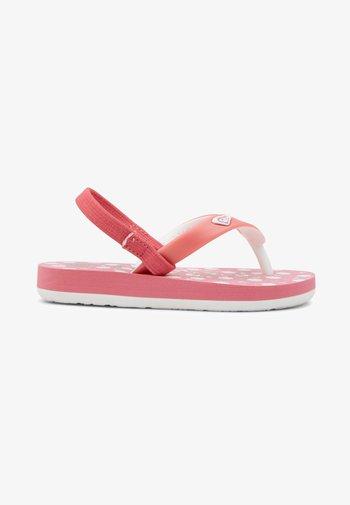 TAHITI VI - T-bar sandals - bright rose
