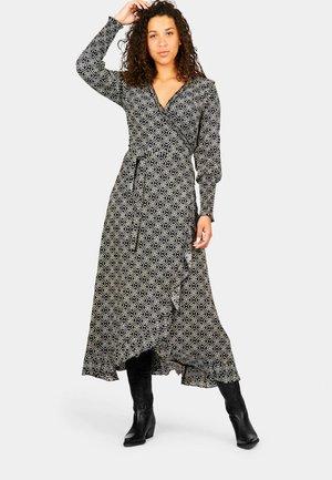 Maxi dress - indian block print with love