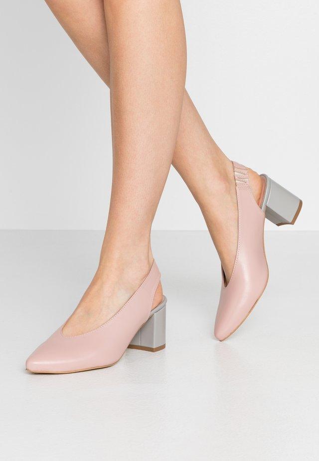 LET'S GO - Classic heels - pink/blue