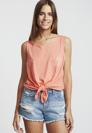 SUMMER ONLY - Top - coral kiss