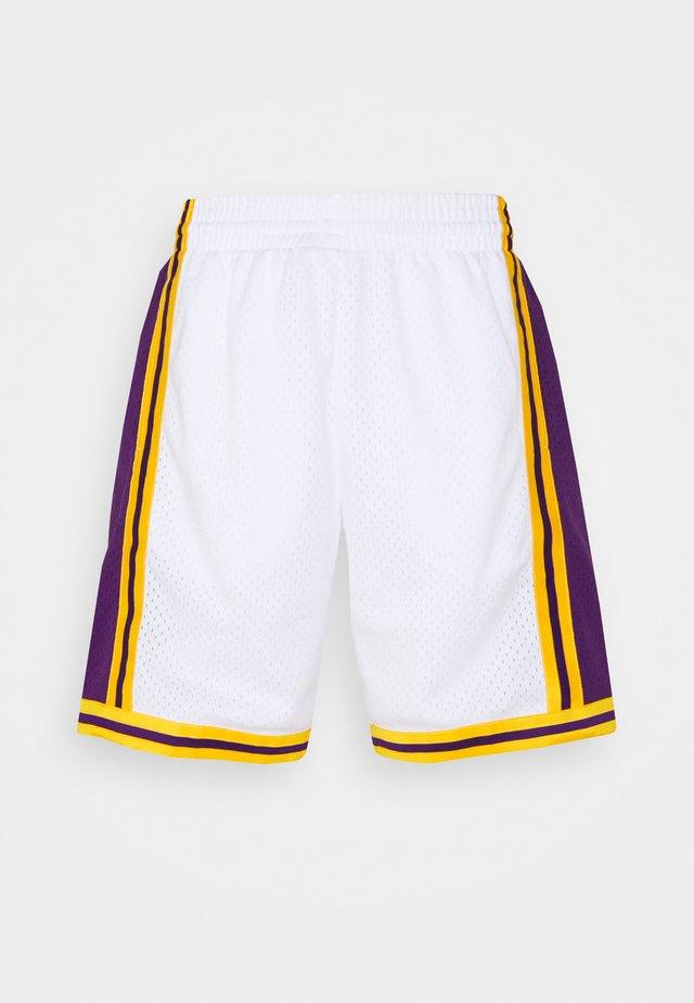 NBA LOS ANGELES LAKERS RELOAD SWINGMAN SHORT - Article de supporter - white