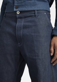 G-Star - GRIP 36 LOOSE - Flared Jeans - kara steel denim - raw denim - 3