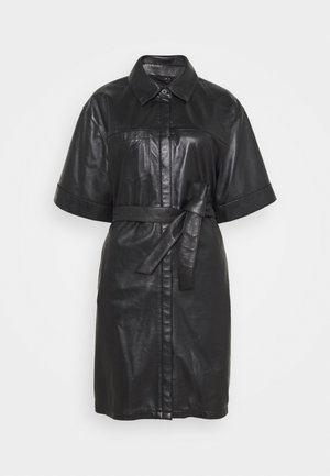 BREAK - Shirt dress - black