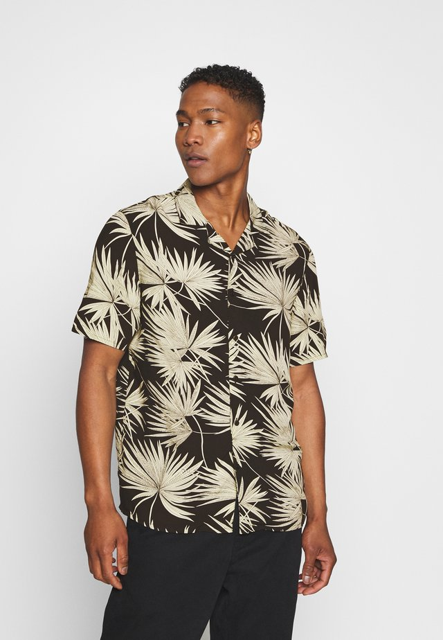 FROND RESORT - Hemd - black