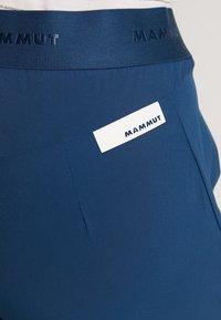 Mammut - CRASHIANO PANTS WOMEN - Friluftsbukser - wing teal - 5