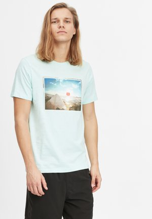 SURFERS VIEW - T-shirt con stampa - bluelight