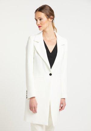 LONGBLAZER - Short coat - ecru