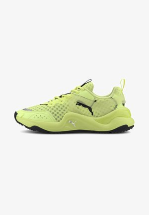 Trainers - fizzy yellow