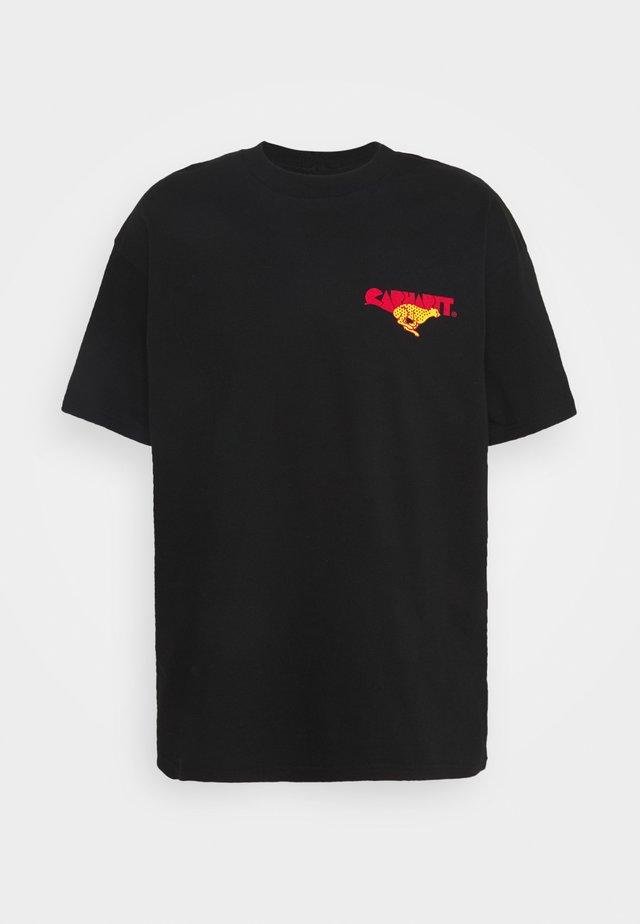 RUNNER - T-shirt imprimé - black