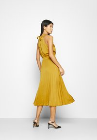 King Louie - DANNA PLISSE DRESS GINTY - Cocktail dress / Party dress - curry yellow - 2