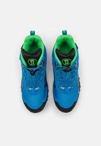 TrollKids - KIDS TROLLTUNGA MID UNISEX - Hiking shoes - medium blue/green - 3