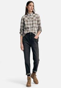 DAY.LIKE - Straight leg jeans - dark grey denim - 1