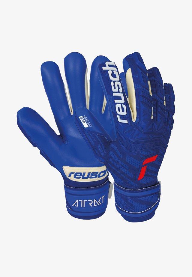Goalkeeping gloves - deep blue