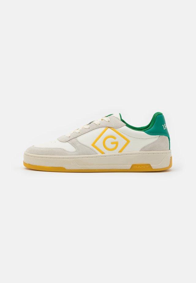 BRO - Sneakersy niskie - offwhite/green