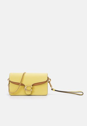 COLORBLOCK TABBY CROSSBODY - Taška s příčným popruhem - natural/yellow/multi