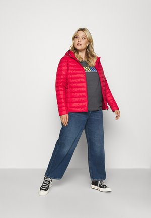 Down jacket - primary red