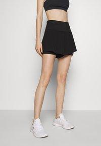 Cotton On Body - HIGHWAIST RUNNING SHORT - Pantalón corto de deporte - black - 0