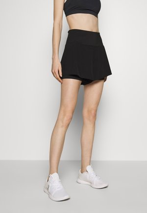 HIGHWAIST RUNNING SHORT - kurze Sporthose - black