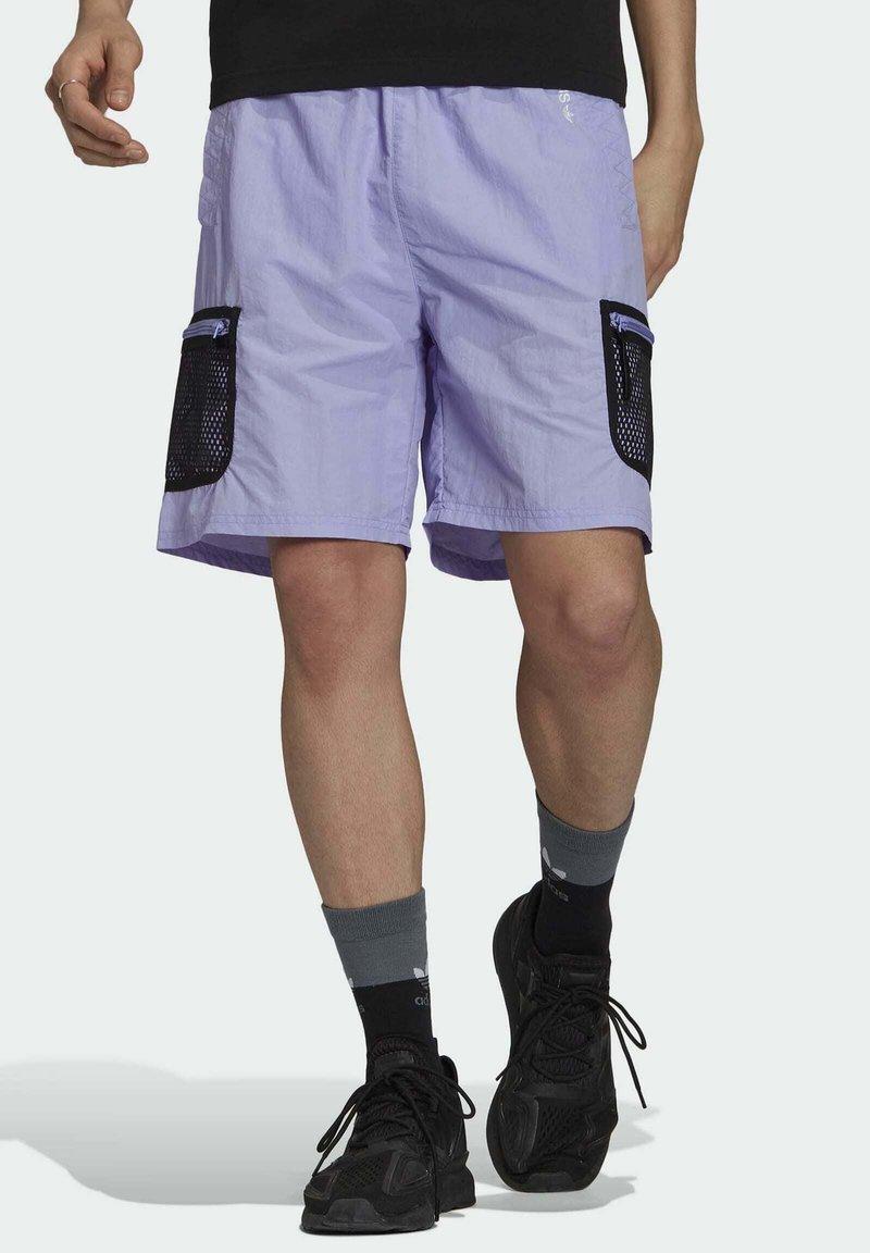 adidas Originals - Shorts - purple
