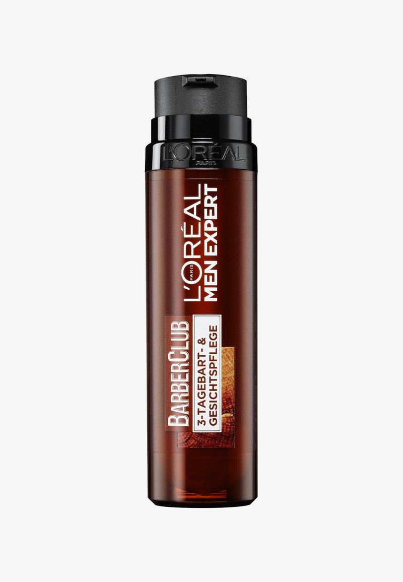 L'Oréal Men Expert - BARBER CLUB 3-DAY BEARD + FACIAL CARE 50ML - Face cream - -