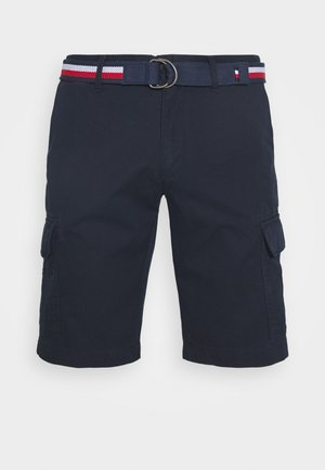 JOHN CARGO - Cargo trousers - blue