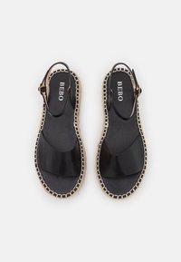BEBO - MONROE - Platform sandals - black - 5
