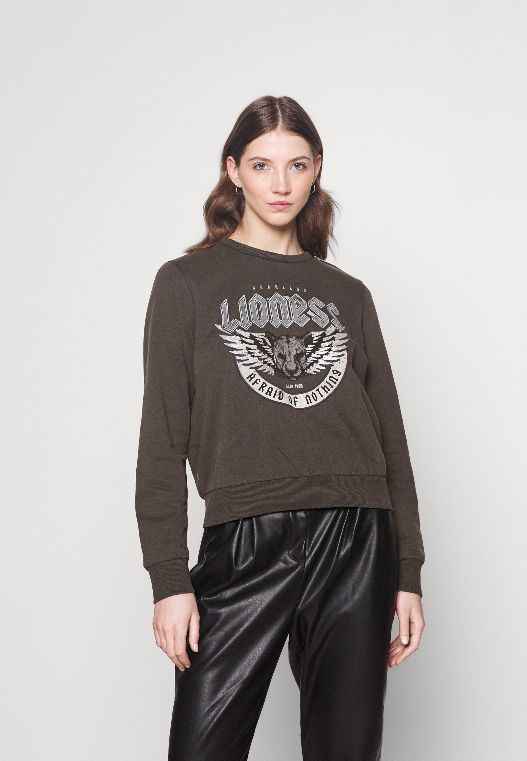 Women ONLLUCINDA LIFE WINGS BOX - Sweatshirt