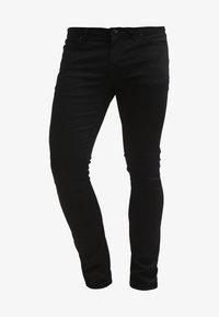 2X4 DENIM - Straight leg jeans - black on black