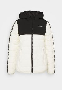 Champion - HOODED JACKET LEGACY - Giacca sportiva - offwhite - 0