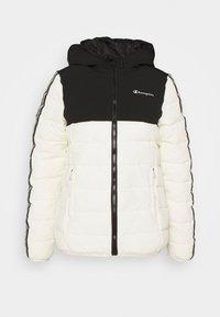 HOODED JACKET LEGACY - Training jacket - offwhite