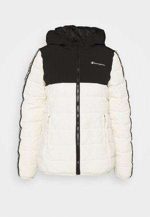 HOODED JACKET LEGACY - Veste de survêtement - offwhite