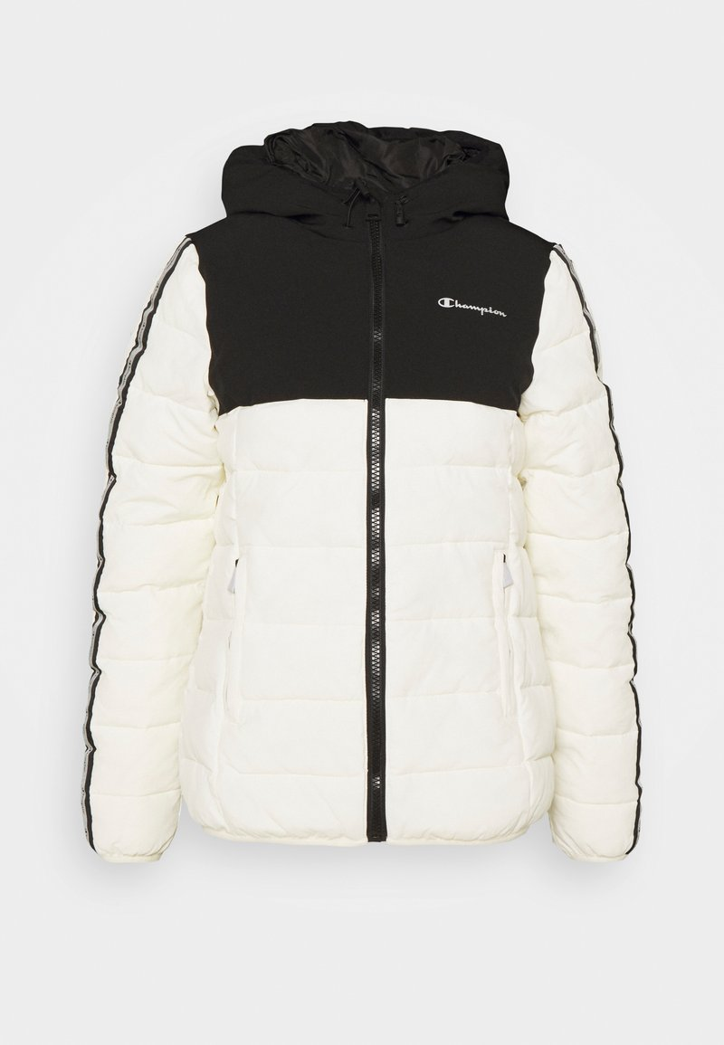 Champion - HOODED JACKET LEGACY - Giacca sportiva - offwhite