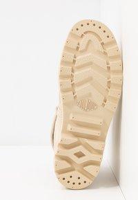 Palladium - PALLABROUSE BAGGY - Lace-up ankle boots - sahara/safari - 6