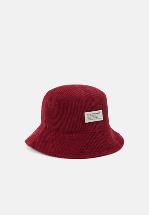BUCKET HAT UNISEX - Hat - bordeaux