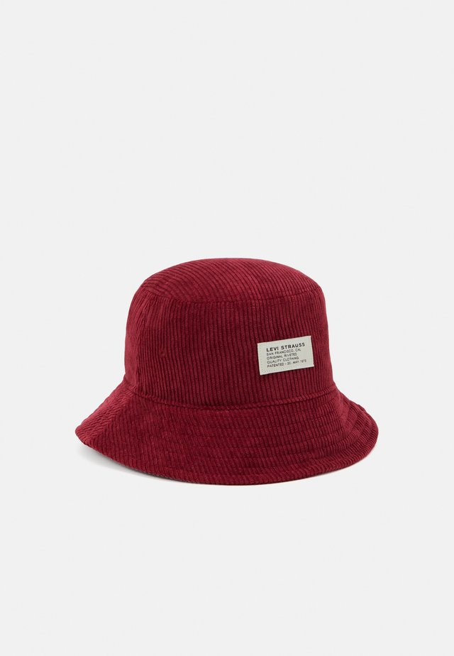 BUCKET HAT UNISEX - Hatt - bordeaux