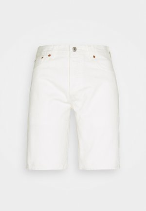 501 HEMMED UNISEX - Denim shorts - marshmallow