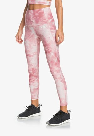 Leggings - silver pink imagine