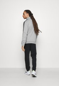 adidas Performance - Tuta - medium grey heather/black - 4