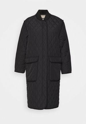QUILTED AUTUMN - Dunfrakker - black