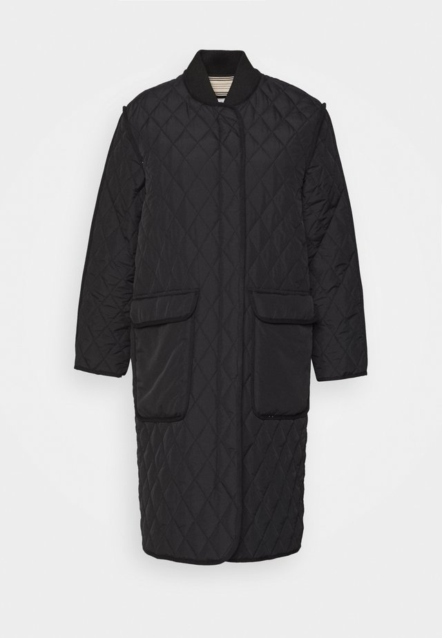 QUILTED AUTUMN - Donsjas - black