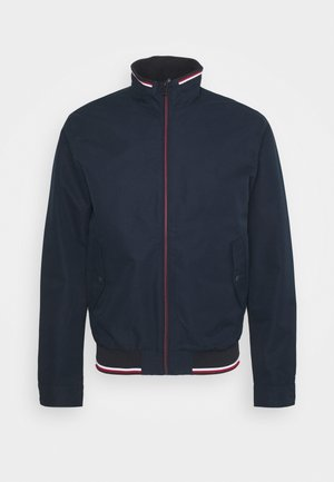 JJCARMAN STAND COLLAR JACKET - Summer jacket - navy blazer