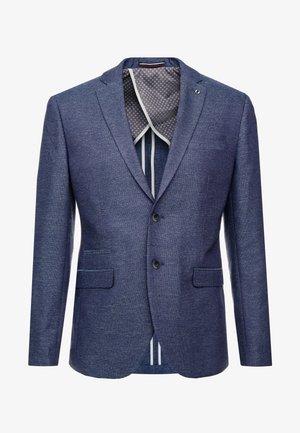 SLHSLIM DIEGO  - Blazer jacket - dark blue melange