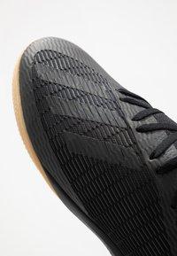 adidas Performance - X 19.3 IN - Indoor football boots - core black/utility black/silver metallic - 5