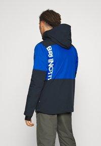 Brunotti - STROKERS MENS SNOWJACKET - Snowboard jacket - space blue - 2