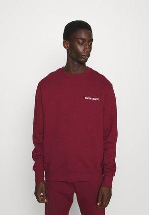 LOGO UNISEX - Sweater - darkred