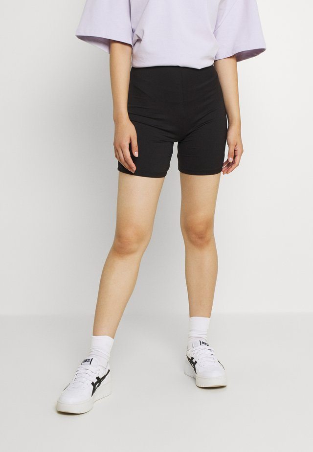 VIBE BIKER - Shorts - black